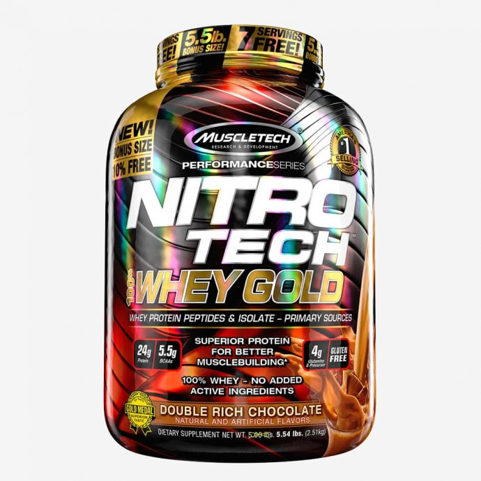 MuscleTech Nitro-Tech 100% Whey Gold